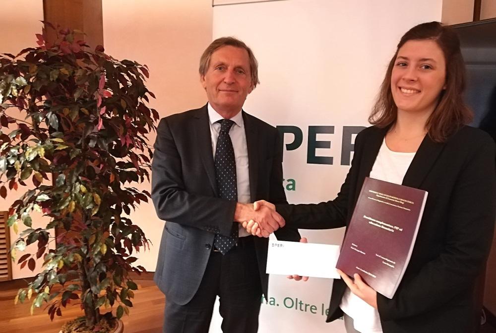"""BPER Banca, assegnato il Premio di studio """"Guido Monzani ..."""