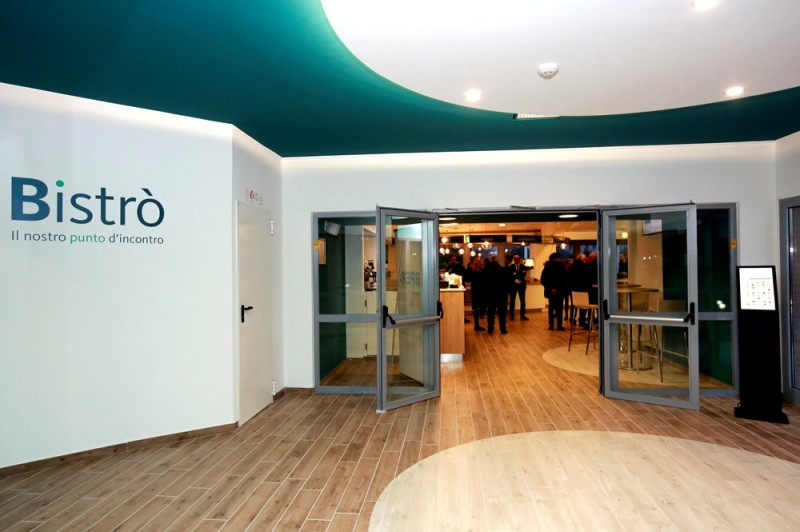 Design Per Ristoranti : Apre bistrò: innovazione e design per il nuovo ristorante aziendale